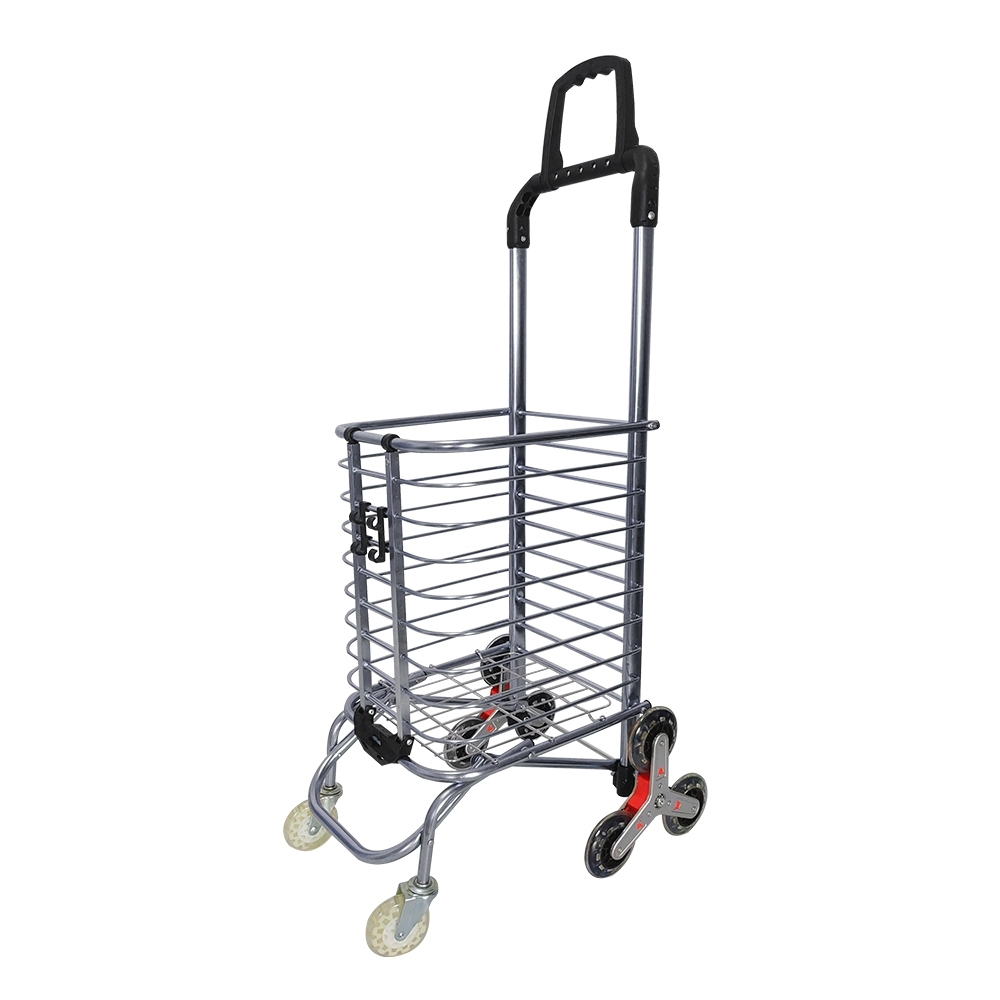 【Incare】第五代升級版360°8輪爬梯購物車(布袋隨機出貨)