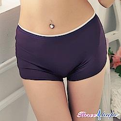 平口內褲 紫色魅力中腰平口褲 (魅力紫) ThreeShape
