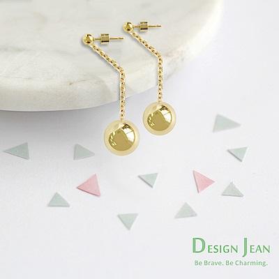 Design Jean 閃亮鋼珠抗過敏吸睛長耳環(SEN0016-1/2/3)
