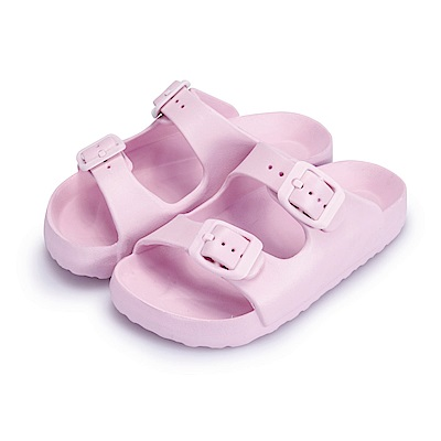 BuyGlasses 輕量造型防水兒童拖鞋-粉