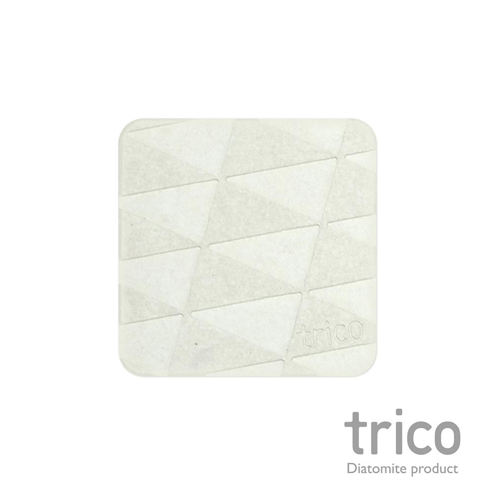 TRICO 極簡速乾珪藻土杯墊/皂墊-灰