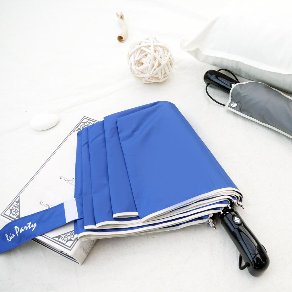 好傘王 日系大大自動傘(寶藍色)