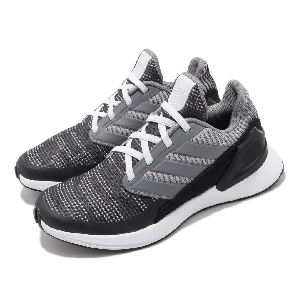 adidas 慢跑鞋 RapidaRun KNIT EL 童鞋