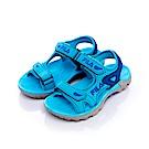 FILA KIDS大童涼鞋-藍色 3-S413S-333