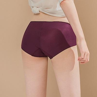 無痕透氣超健康竹炭包臀中腰M-XL內褲 廣場派對 可蘭霓Clany