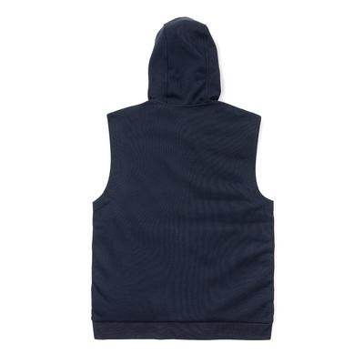 Polo Ralph Lauren 防風防潑水連帽輕量連帽羽絨背心-深藍色