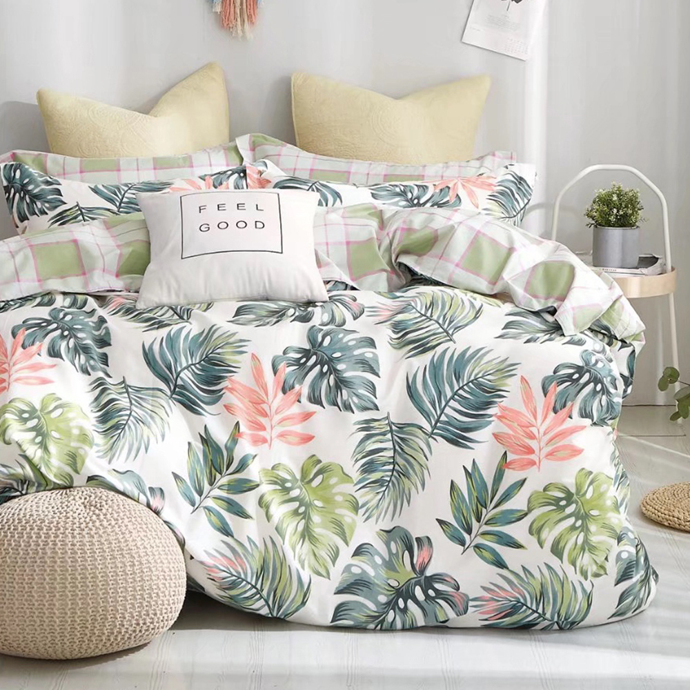 Ania Casa迷魅迷情 雙人四件式 100%精梳棉 台灣製 床包被套純棉四件組
