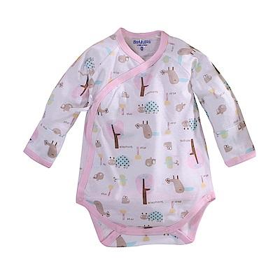 純棉薄款長袖護手連身衣 a70220 魔法Baby