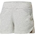PUMA-女性訓練系列Yogini 3吋短褲-淺麻花灰-歐規