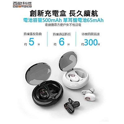 巴塞隆納 無線雙耳立體聲藍牙耳機(白) CME-BTK400
