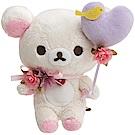 懶妹蜂蜜小熊的粉彩花園系列毛絨公仔。懶妹San-X