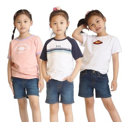 【時時樂限定】LEE童裝LOGO短袖T恤-六款選