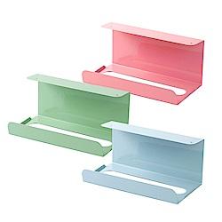 【Incare】免釘可掛 櫥櫃紙巾掛架(2入組/三色)