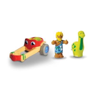 【WOW Toys 驚奇玩具】小玩偶 - 長頸龍戰車