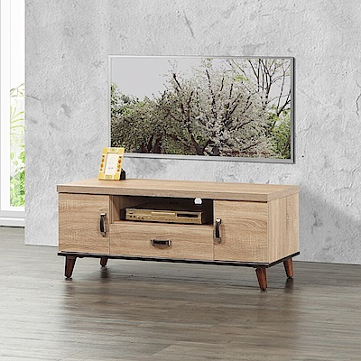 MUNA貝克4尺電視櫃  120X40X44.5cm