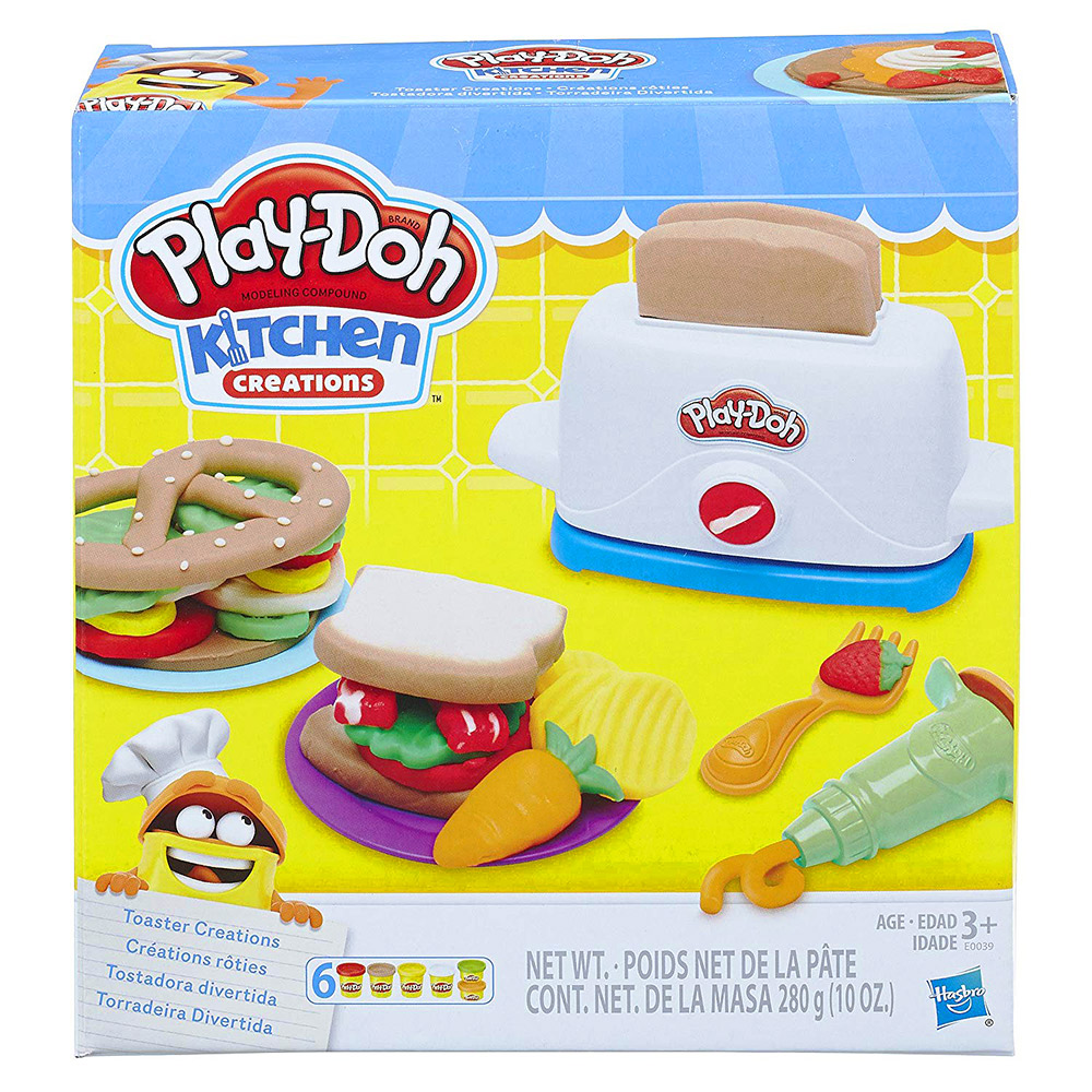 培樂多Play-Doh 創意DIY黏土 廚房系列 創意土司 E0039