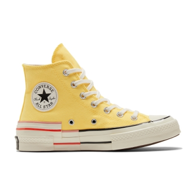 CONVERSE CHUCK 70 HI 高筒 百搭 拼接 舒適 女 休閒鞋 黃色 570787C