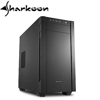 Sharkoon 旋剛 S1000 小暴風 micro-ATX 電腦機殼