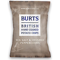 BURTS波滋 手作洋芋片-香鹽胡椒(150g)