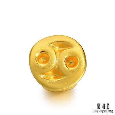 點睛品 Charme 十二星座-巨蟹座 黃金串珠