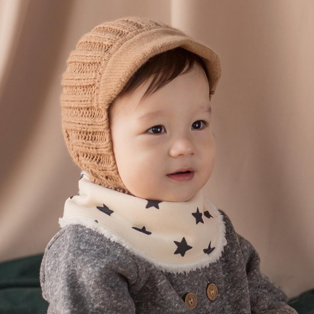 Happy Prince韓國製 Benjamin保暖嬰兒童圍脖圍巾-多色