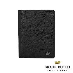 BRAUN BUFFEL - 莫里森系列11卡直立式皮夾 - 黑