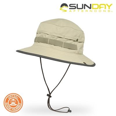 Sunday Afternoons 抗UV曬透氣圓桶帽 S1A03322B【沙岩】