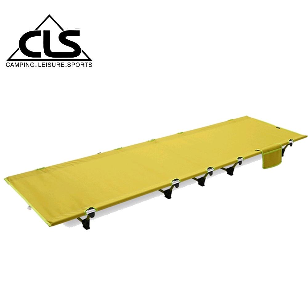 韓國CLS 超承重輕量鋁合金行軍床 露營床(兩色任選)