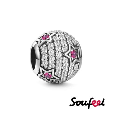 SOUFEEL索菲爾 925純銀珠飾  星空物語 串珠