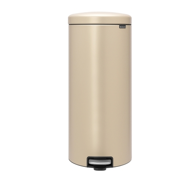【Brabantia】NEWICON環保垃圾桶-30L金沙色金屬踏板(新品上市)