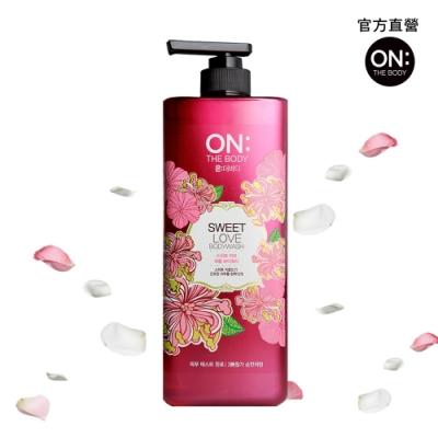 ON THE BODY甜蜜愛戀香水沐浴精 900g