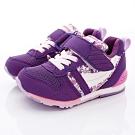 日本月星頂級童鞋 HI系列2E機能款 TW121S6紫紅花(中小童段)