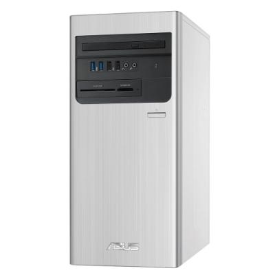 ASUS華碩 S700TA 第十代i7八核桌上型電腦(i7-10700/16G/1TB HDD+256G SSD/GTX1660 Super 6G/Win10 home/銀)