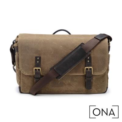 ONA Union Street 專業相機包(1機3鏡,15吋筆電適用) - 原野棕