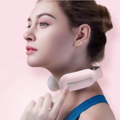 沛莉緹Panatec智能肩頸按摩儀-粉K-375P 沈夢辰推薦 低頭族神器