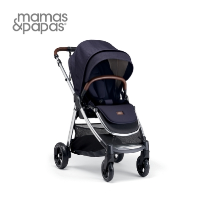 【Mamas & Papas】穿山甲雙向手推車XT3(午夜藍)