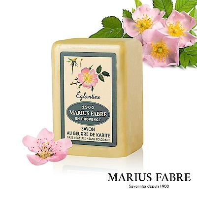 法國法鉑-天然草本野玫瑰棕櫚皂-250g/顆