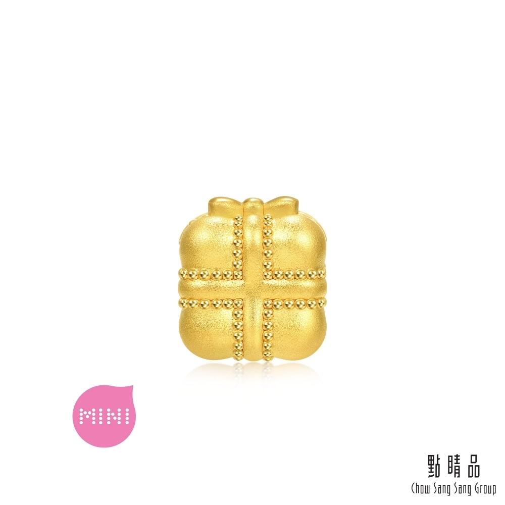 點睛品 999純金 Charme Mini 禮物盒 黃金串珠