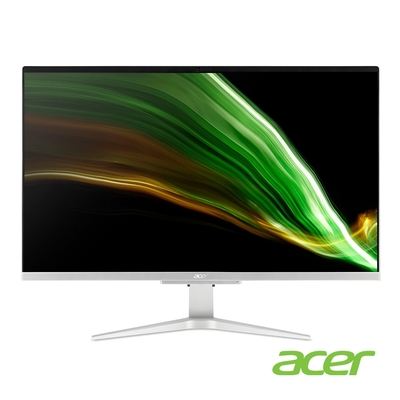 Acer C27-1655 11代i5雙碟AIO電腦(i5-1135G7/512G+1TB/16G/Win10h)