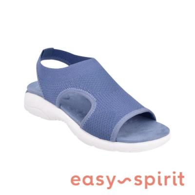 Easy Spirit-seTROLLEY2 透氣簍空休閒鞋-藍色