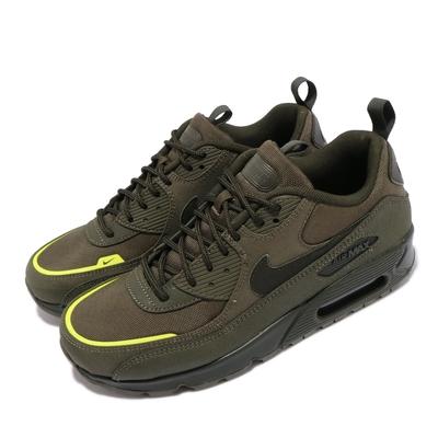 Nike 休閒鞋 Air Max 90 Surplus 男鞋 海外限定 氣墊 軍裝 工靴造型 CORDURA 綠 CQ7743-300