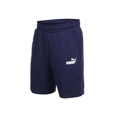 PUMA 男基本系列AMPLIFIED 9吋短褲-五分褲 慢跑 路跑 丈青白
