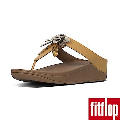 FitFlop CONGA夾腳涼鞋藤黃色