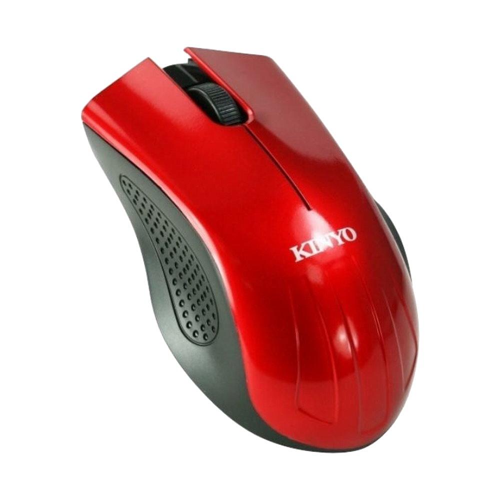 KINYO USB超靜音光學滑鼠KM-506兩入裝