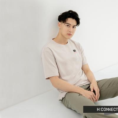 H:CONNECT 韓國品牌 男裝-無所畏懼字樣圖印排汗T恤