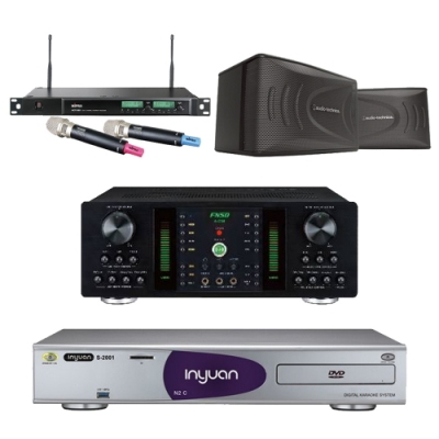 音圓N2C+FNSD A-250+AT-KSP90+ACT-589(伴唱機 4TB+卡拉OK套組)