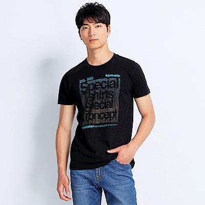 101原創 Advanced短袖T恤上衣-黑