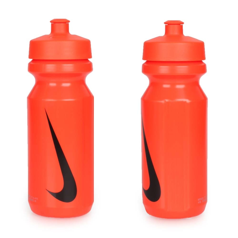 NIKE 大嘴巴水壺650ML-慢跑 路跑 自行車 單車 運動水壺 橘黑