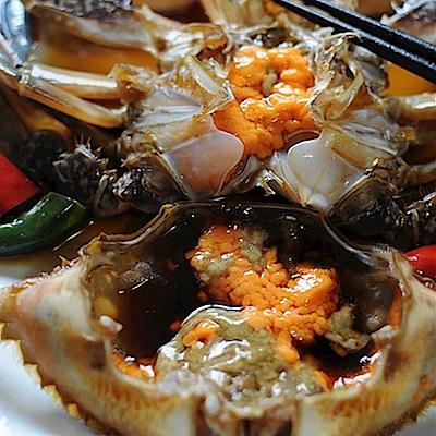 韓味不二-醬油岩螃蟹770g