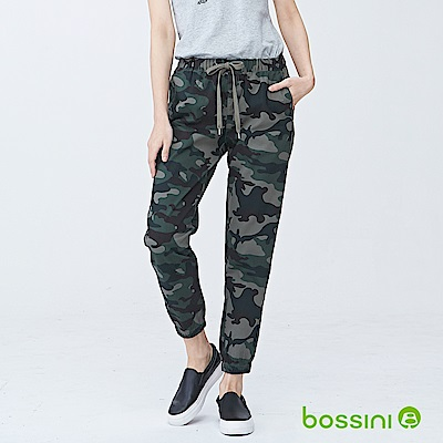 bossini女裝-輕鬆長褲03軍綠